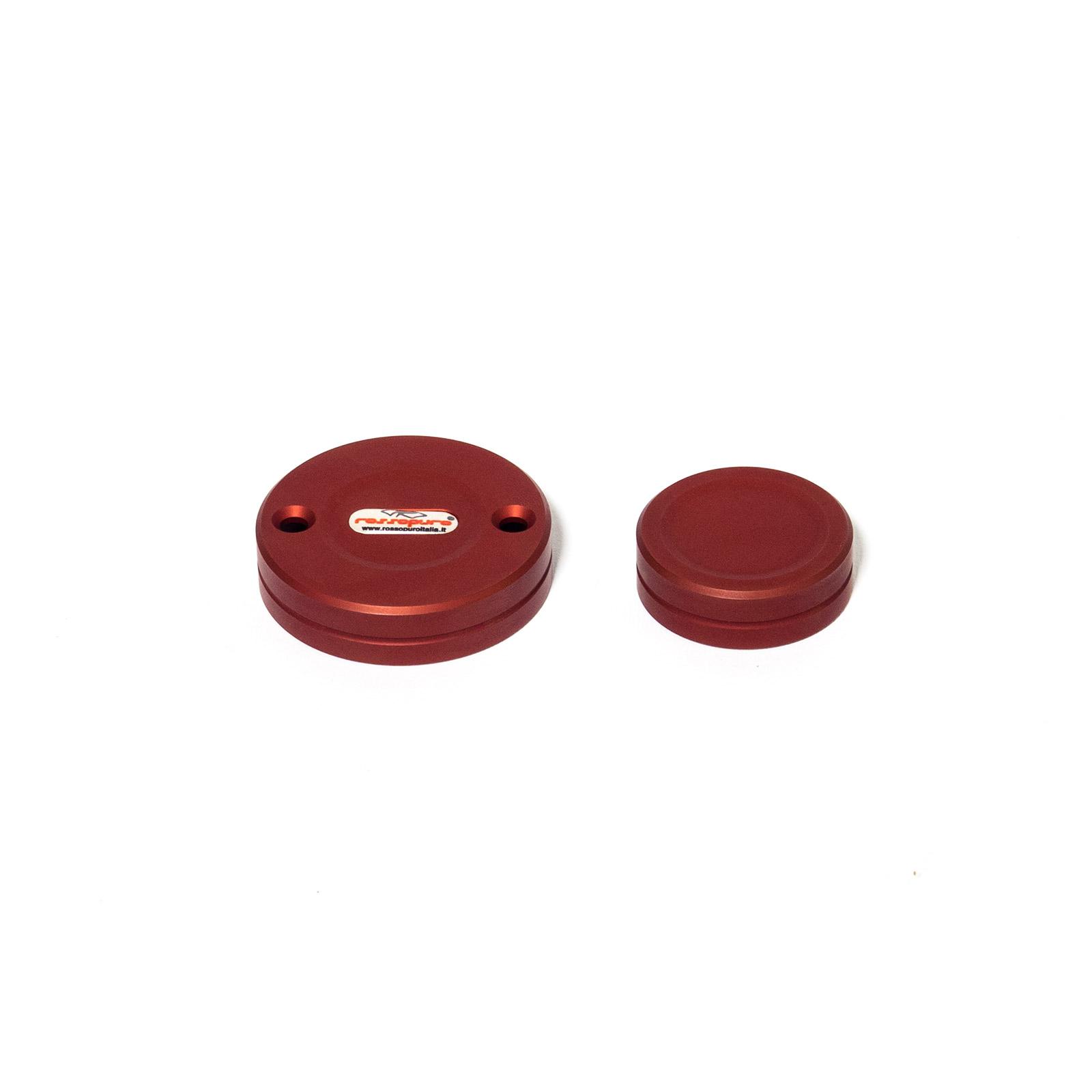 Tappi olio-freno-frizione V11 - rosso