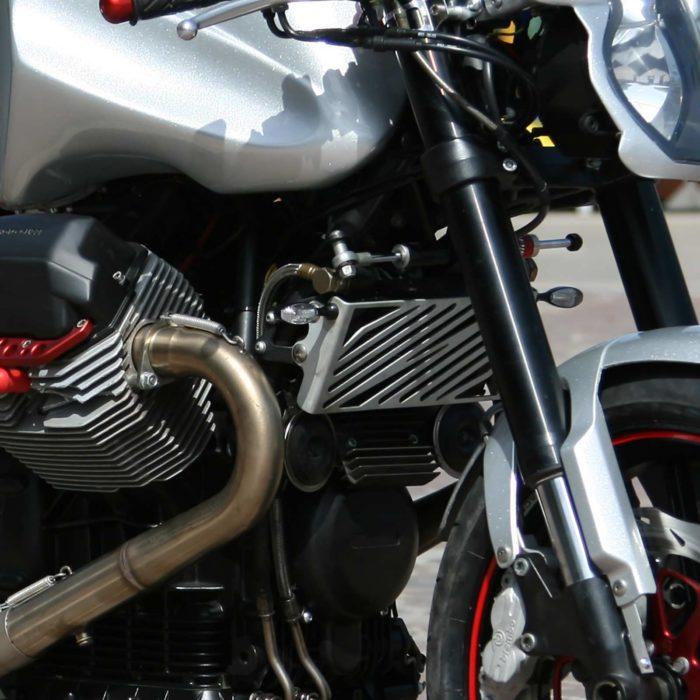 Griglia copri radiatore V11 - alluminio